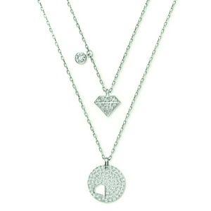 🆕️Swarovski Double Pendant Crystal Necklace